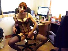 eraldamiseks läbi sekretär riided paljastada seksikas baski
