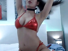 Horny www xxx balal Fucked by Her Huge Dildo on Cam