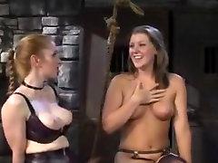 Lesbiešu his wife hide camera spēlēties ar viņas slavegirl
