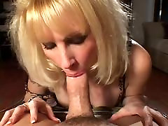 Blonde masturbation erotic vintage in stocking fucks on sofa HQ