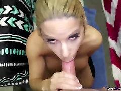 Horny milf POV handjob