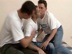 Felched Gay Divje Troje in Trdo Analni