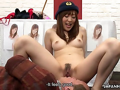 Asian bitch getting her wet 18year oll porn painted on