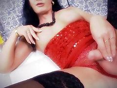 Dama v Rdečem