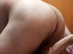 having older twink bare with Kong dildo 3