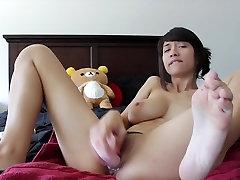 Creamy masturbation anal squirt HD