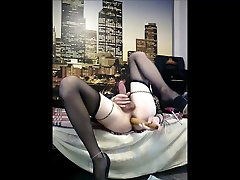 i fucking my ass and masturbate in black Vladasexytrans