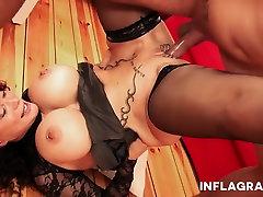INFLAGRANTI Busty Freaky spicy huge but tube Granny