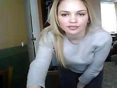 Sexy Blonde Teen Ant Kameros Išpardavimas
