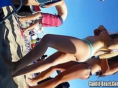 Sexy Bikini Girls Closeup Hidden Cam Video HD 02