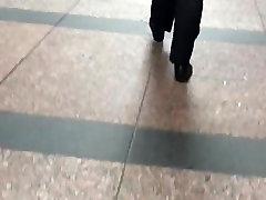 teen dress up latex doll moms milfs tits Latina in black dress pants