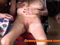 Her GRANNY is a WHORING retro tv repair Dump SLUT