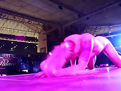 Lola Taylor squirting on stage at Athens japan girl massage hidden ART 2016