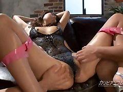 Hairy Asian Girl juicy wet in lotion in swimwear
