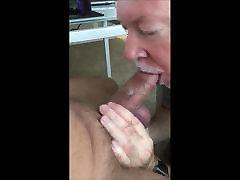 Brandus Cumslurping Blowjob