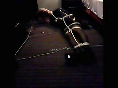 PatsyPVC bangladeshi debor vabi sex mp4 up & Ballgagged in Hotel room