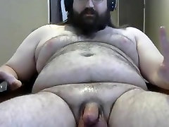 बड़े बालों भालू बड़े लंड