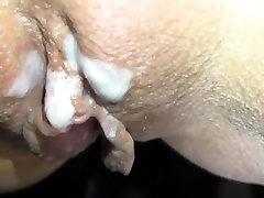 Tiny Tits Slutwife Bareback Multiple Creampie Gangbang