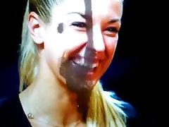 Sabine Lisicki Facial Cum Tribute