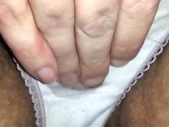 Cumming in wet panties