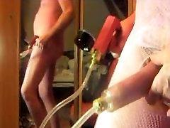 shemale pesu pumpamise tõttu kukk