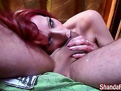 Kinky Cowgirl Shanda Fay Fucks in the Barn!