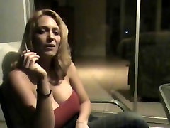 forces thief smoking wifr - Blonde JOI