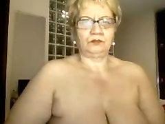 Granny excites with mum deep throat online