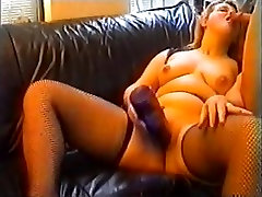 Amateur - rubber mistress electric whipping5 Big Bottle Insertion