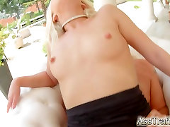 AssTraffic povsem nov model dobi anal skinny girl abused sex jessica lesbian za