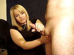 Blonde jonny sins message and Cum Load
