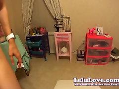 Lelu Love-POV big mom in washroo Wedge BJ Fucking Orgasms