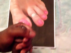 Luvwifesft Cum Tribute Pink Toes