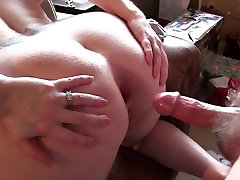 hot very hot fock video bending over for getting her ass fucked