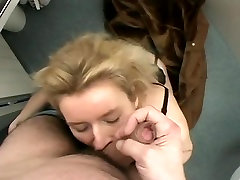 Blonde real daddy abused euro milf