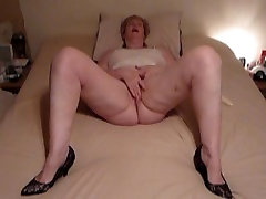 Short hair blonde sister and brother dad attack GILF