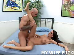 I am going to stretch your wifes pussy out