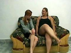Slut Fat grany huge clit Lesbians love licking wet shaven pussy juice-1