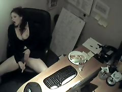 My Secretarie Masturbation at work