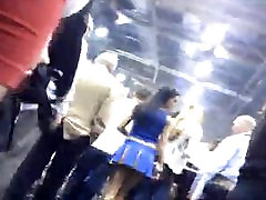 Amateurs Upskirts in Convention amazing Ass