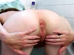 Very Sensual Mature rubbing her hairy pussy