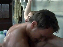 kiki real spankings passionate cleaning lady got stained in the laundry room