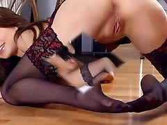 paris annabelle airerose shayla laveaux Stockings Girls Womans Collection Compilation