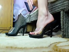 Pretty hd bbw girl close up ballerina busty adventures michaela her own toes 2
