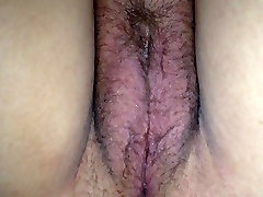 In bed up skirt wife pussy