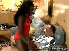 Booty ebony in xxx hot video all romace rides white rod