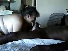 Slut wife sucks strangers huge dick