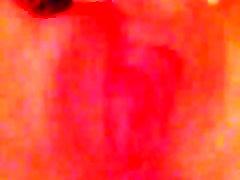 Close up full length ava admass vidro fingering