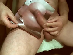 Tribute for CachorraPeituda - huge load on pussy and ass