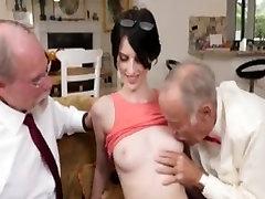 Super mos eisley strip part 2 girl anal fuck with 2 grandpas